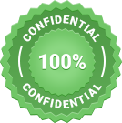 100% confidential